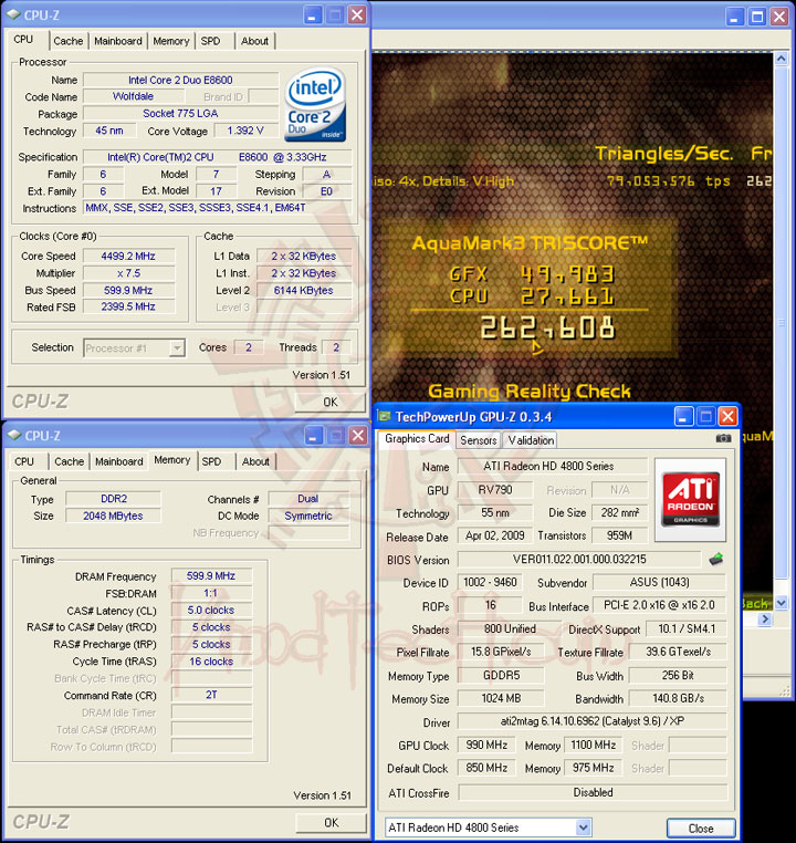 oc am3 8600 ASUS EAH4890 DDR5 Voltage Tweak!!!