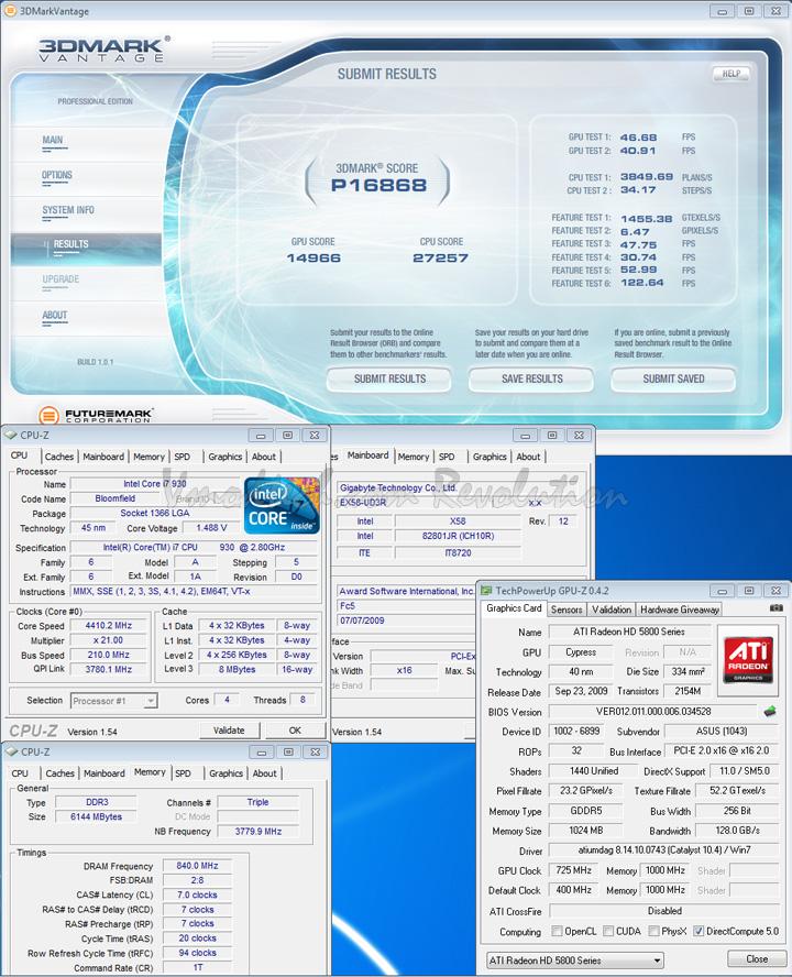5850 07 def ASUS EAH5850 DDR5 Review