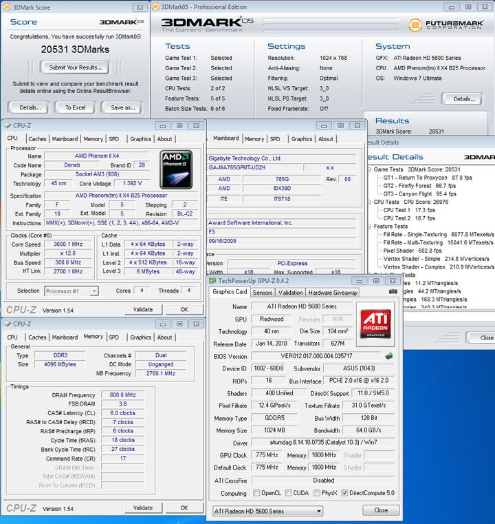 05 def ASUS EAH5670 1GB DDR5 Review