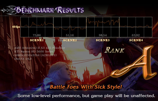 devilmaycry4 benchmark dx10 ASUS EAH5670 1GB DDR5 Review