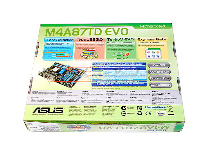 dsc 0461 ASUS M4A87TD EVO Motherboard Review