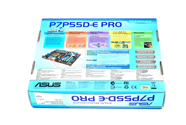 p7p55d e pro 016 ASUS P7P55D E Pro Motherboard Review