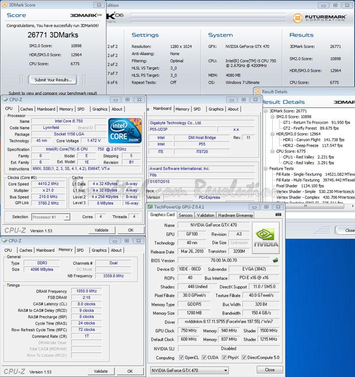 06 EVGA Geforce GTX470 Overclocking Review