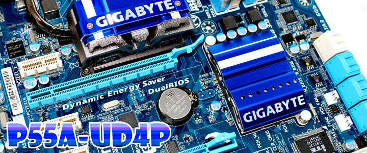 post1 GIGABYTE GA P55A UD4P Full Benchmark Review