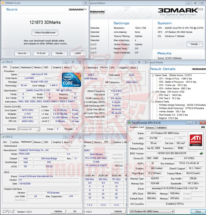 03 GIGABYTE GA P55A UD6 Full Benchmark Review