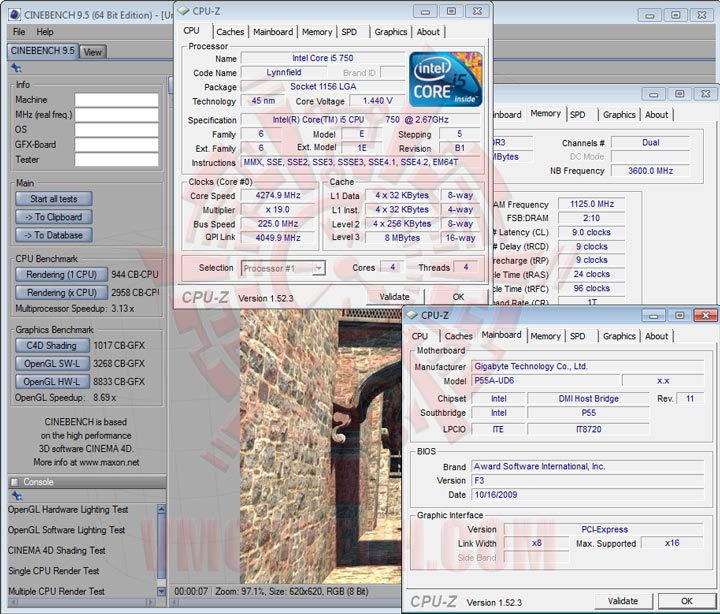 c95 GIGABYTE GA P55A UD6 Full Benchmark Review