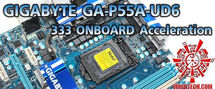 p55a ud6 1 GIGABYTE GA P55A UD6 Full Benchmark Review