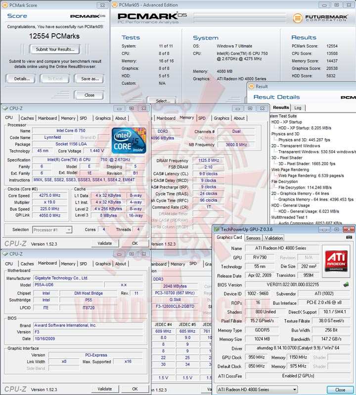 pcm05 GIGABYTE GA P55A UD6 Full Benchmark Review