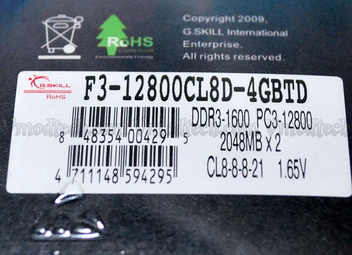 gskill trident 10 G.SKILL Trident F3 12800CL8D 4GBTD Review