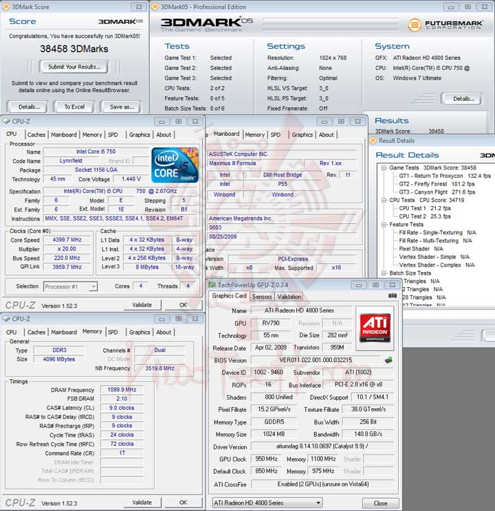 05 220 ASUS MAXIMUS III FORMULA Overclocking Test