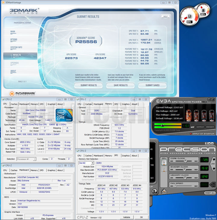 3dvantage cl7 OCZ DDR3 PC3 12800 FlexXLC Edition