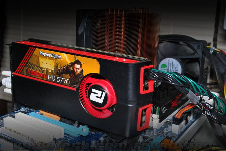 system PowerColor Radeon HD 5770 Review