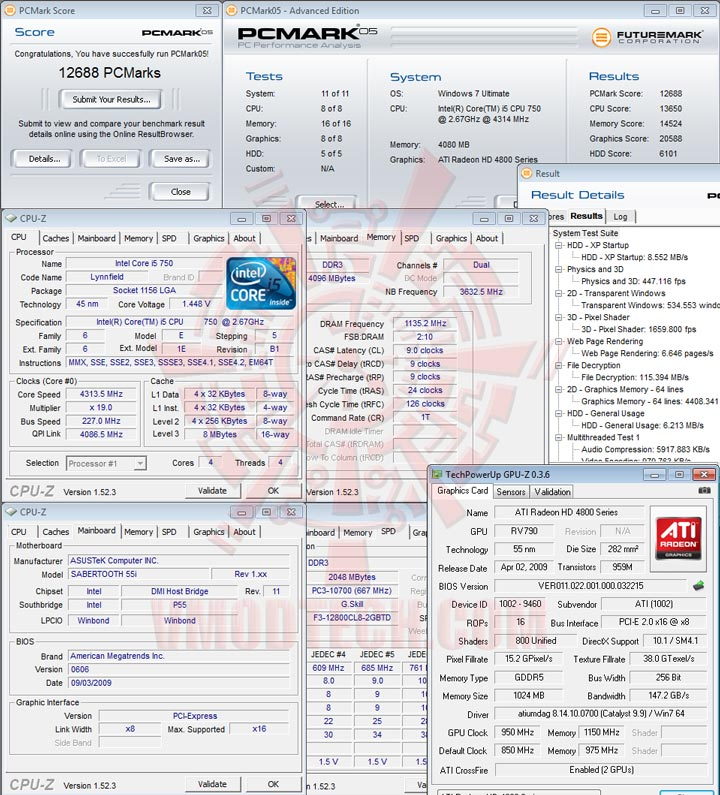 pcm05 ASUS SABERTOOTH 55i Full Benchmark Review
