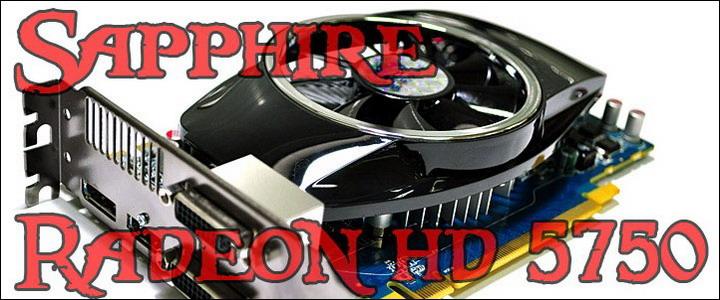 hd5750 SAPPHIRE Radeon HD 5750 1GB GDDR5 Review