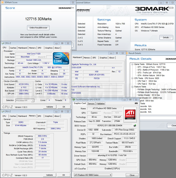03 2 XFX ATI Radeon HD5870 DX11 Graphic Card Review (CrossfireX)