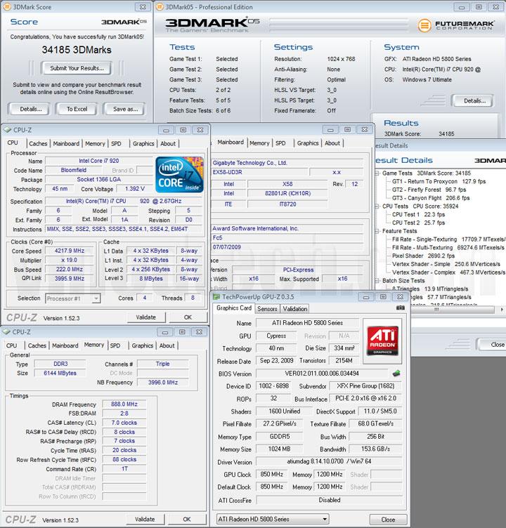 05 1 XFX ATI Radeon HD5870 DX11 Graphic Card Review (CrossfireX)