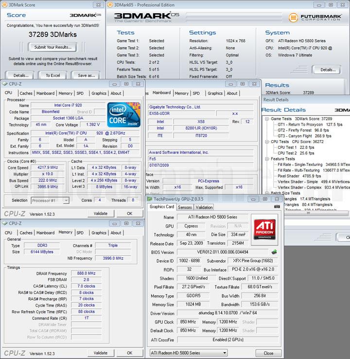 05 2 XFX ATI Radeon HD5870 DX11 Graphic Card Review (CrossfireX)