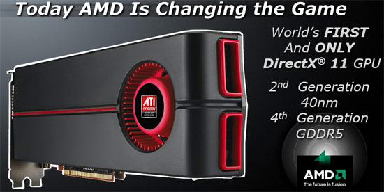 amd radeon 5870 XFX ATI Radeon HD5870 DX11 Graphic Card Review (CrossfireX)