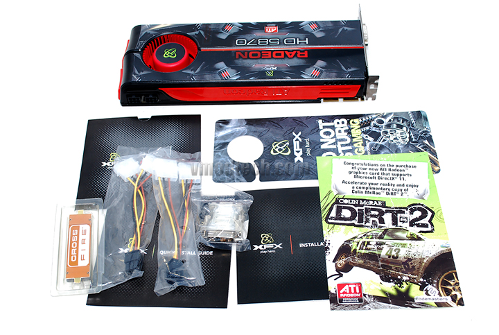 xfx 5870 bundle XFX ATI Radeon HD5870 DX11 Graphic Card Review (CrossfireX)