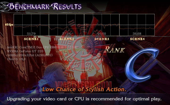 devilmaycry4 benchmark dx103 GIGABYTE GT220 1GB DDR3 Review