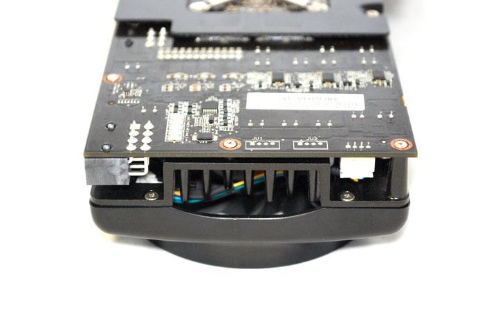 dsc 0248 ASUS EAH4870x2 Tri Fans Cooler