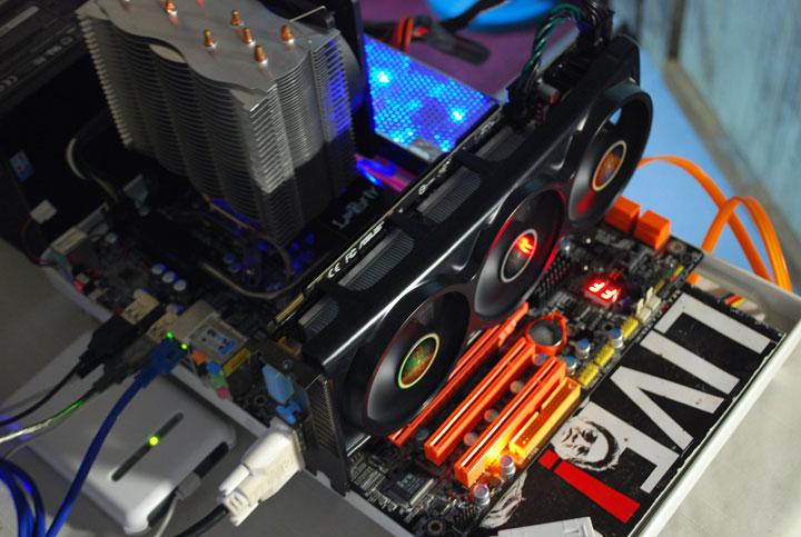 dsc 0303 ASUS EAH4870x2 Tri Fans Cooler