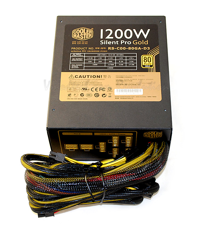 dsc 0506 Cooler Master Silent Pro Gold 1200W Preview