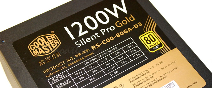 dsc 05151 Cooler Master Silent Pro Gold 1200W Review