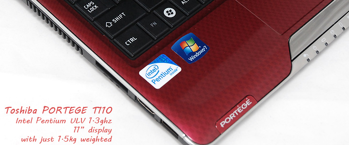 dsc 6031 Review : Toshiba Portege T110 notebook