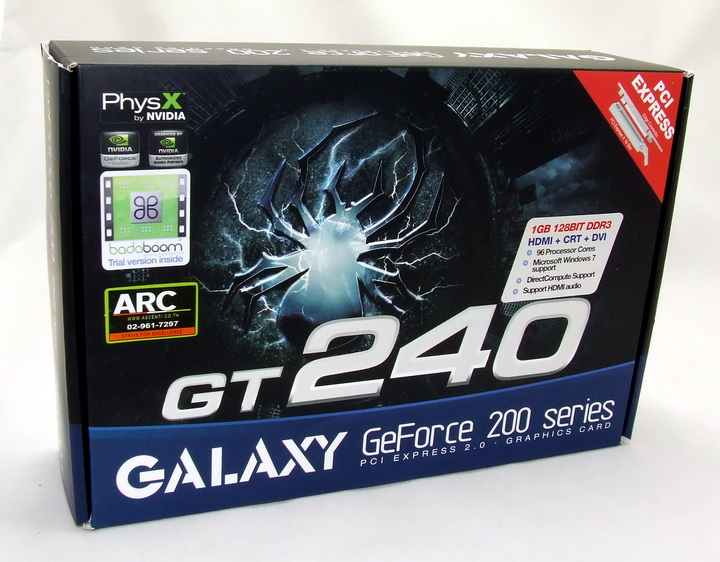 dscf2409 Galaxy GT240 1GB DDR3 Review