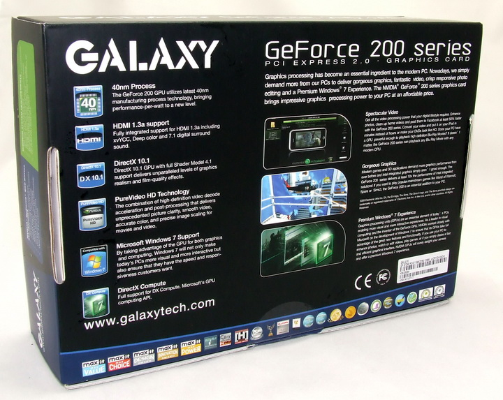 dscf2410 Galaxy GT240 1GB DDR3 Review