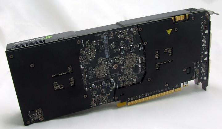 dscf9332 Manli GTX295 Single PCB Review