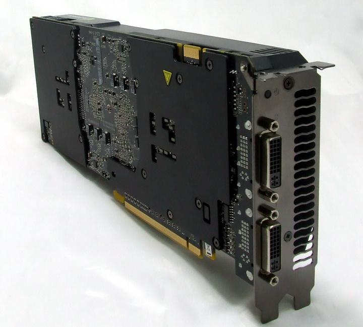 dscf9335 Manli GTX295 Single PCB Review