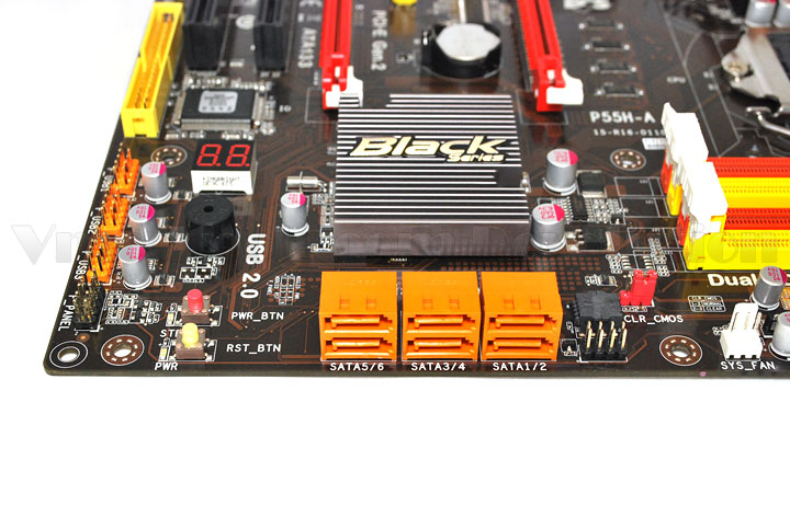 ecs p55h a 008 ECS Black Series P55H A Preview