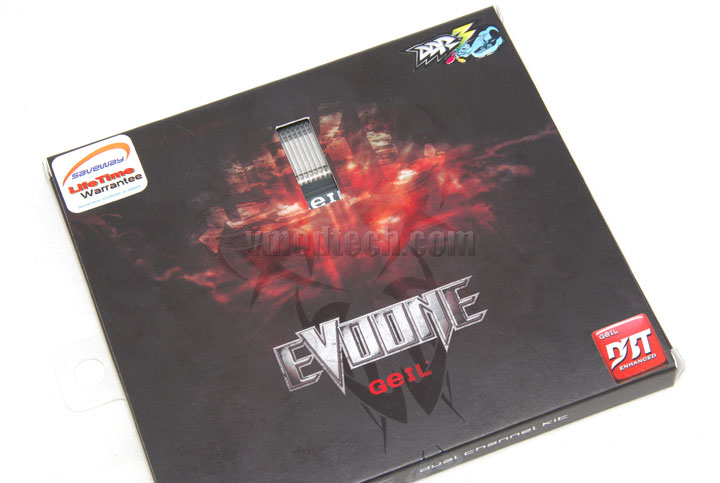 evo1 package04 GEIL EVO ONE PC3 17000 CL9 Review
