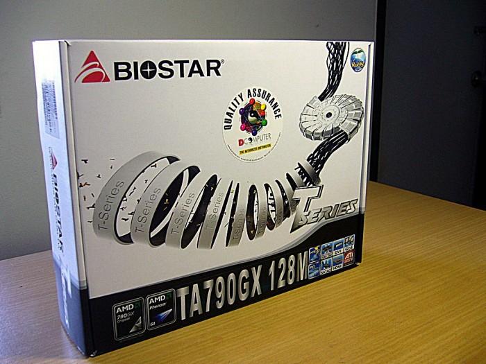 1 ta790gx 128m 01 700x525 custom แกะกล่อง Review Biostar TA790GX 128M