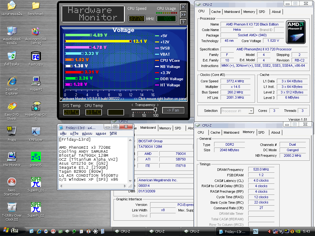 3 x3 260x145 biostar hwm แกะกล่อง Review Biostar TA790GX 128M