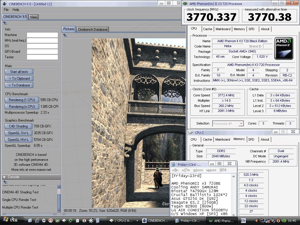 9 x3 260x145 cinebench 95 5704 แกะกล่อง Review Biostar TA790GX 128M