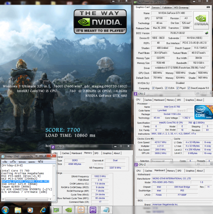 800 1000 dx9 finalfantasy 7700 717x720 GALAXY nVidia Geforce GTX480 : Review