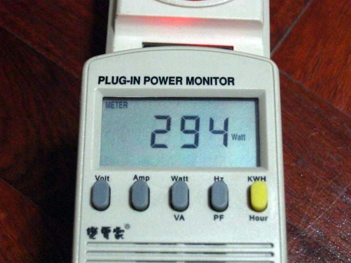 power oc fullload 720x540 Gigabyte ATi HD5770 1GB DDR5 Silent Cell Review