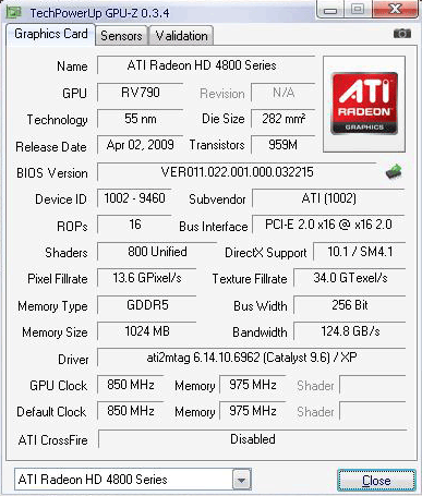 211 hd4890 gpuz info1 มวยถูกคู่ คนดูถูกใจ HD4890 เจอ GTX275