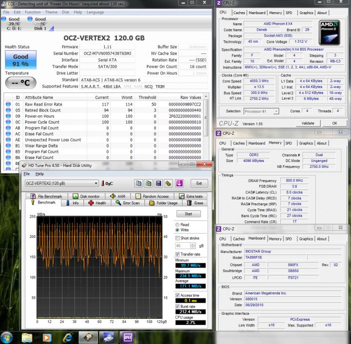 14 ssd ocz hdtune write 1711 720x707 OCZ Vertex2 SSD SATAII 120GB