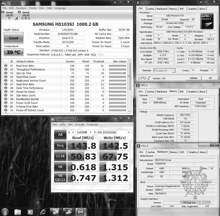 36 samsung103sj crystaldiskmark 1438 1425 720x706 OCZ Vertex2 SSD SATAII 120GB