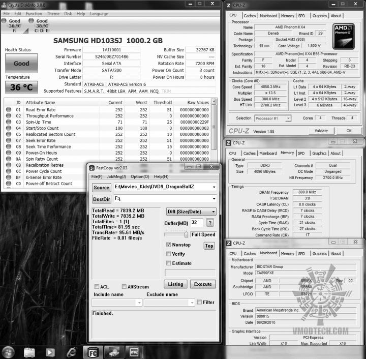 38 samsung103sj fastcopy 8199s 720x706 OCZ Vertex2 SSD SATAII 120GB