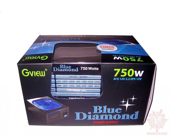 gview bluediamond 02 720x575 PSU : Gview Blue Diamond 750w