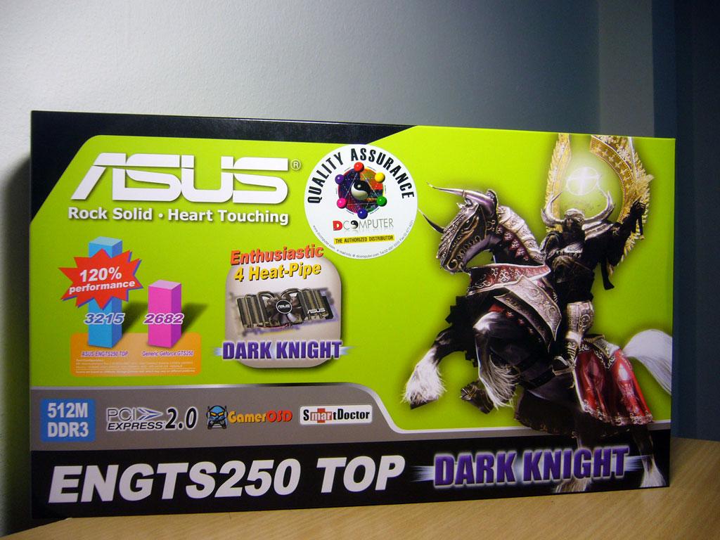 asus gts250dk 01 Asus อัศวินแห่งรัตติกาล รหัส GTS250 DK 512MB DDR3