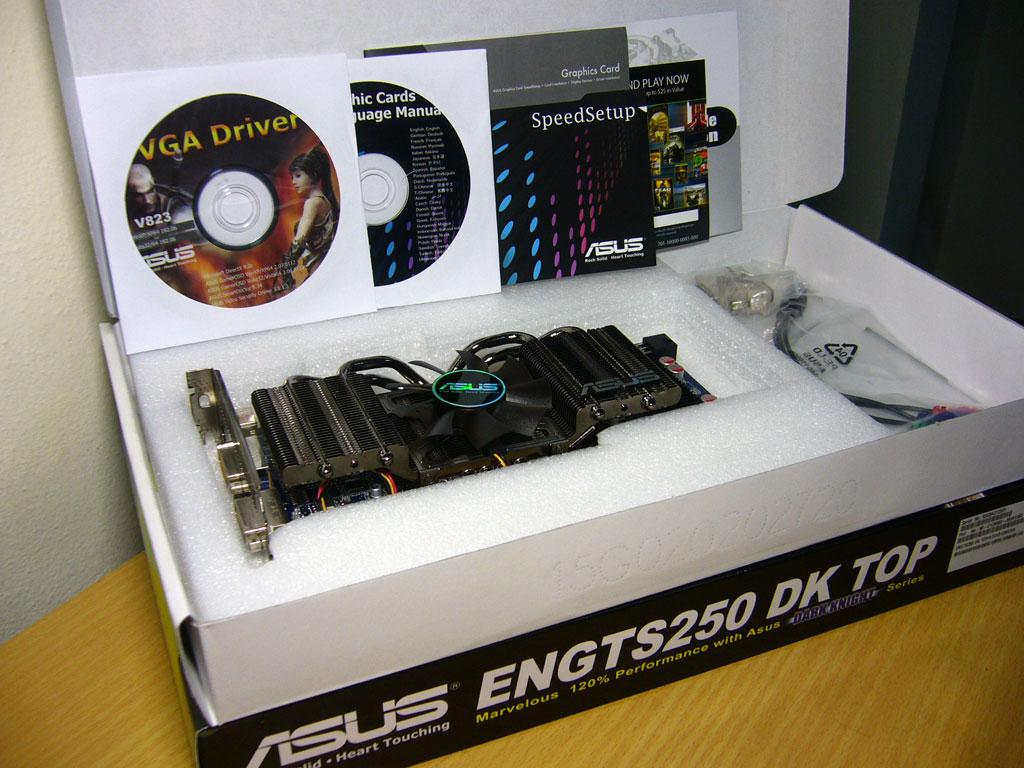 asus gts250dk 04 Asus อัศวินแห่งรัตติกาล รหัส GTS250 DK 512MB DDR3