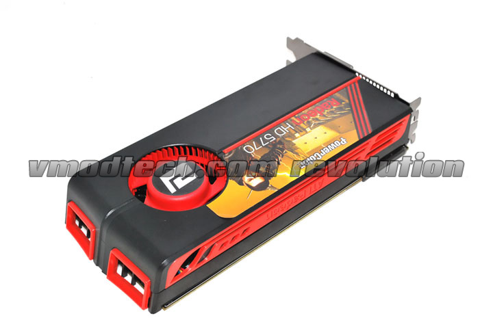 front PowerColor Radeon HD 5770 Review
