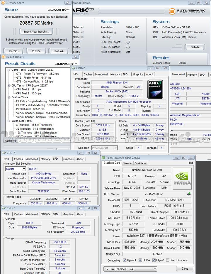 gt240 3d05 oc GALAXY NVIDIA GT240 DDR5 512MB