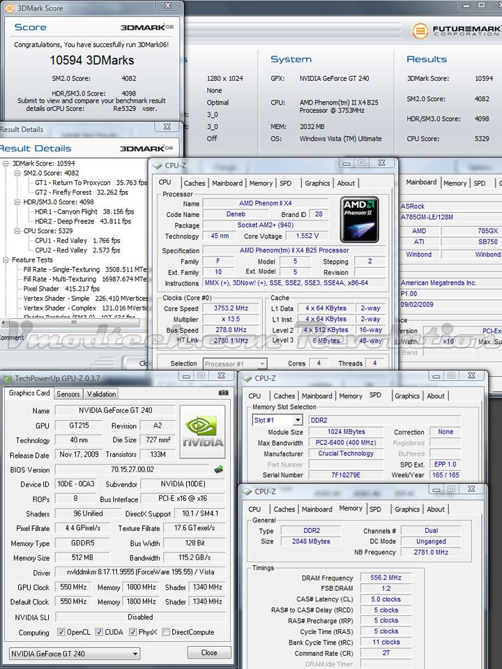 gt240 3d06 GALAXY NVIDIA GT240 DDR5 512MB